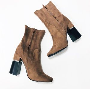 Design Lab (Lord & Taylor) Maddy vegan suede boots